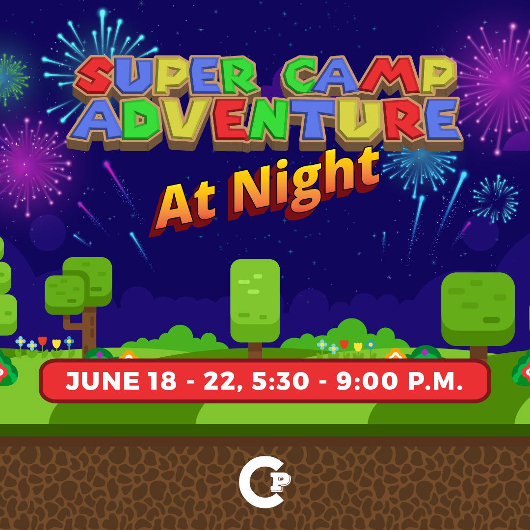 Social media with times night super camp adventure ig v1 041018