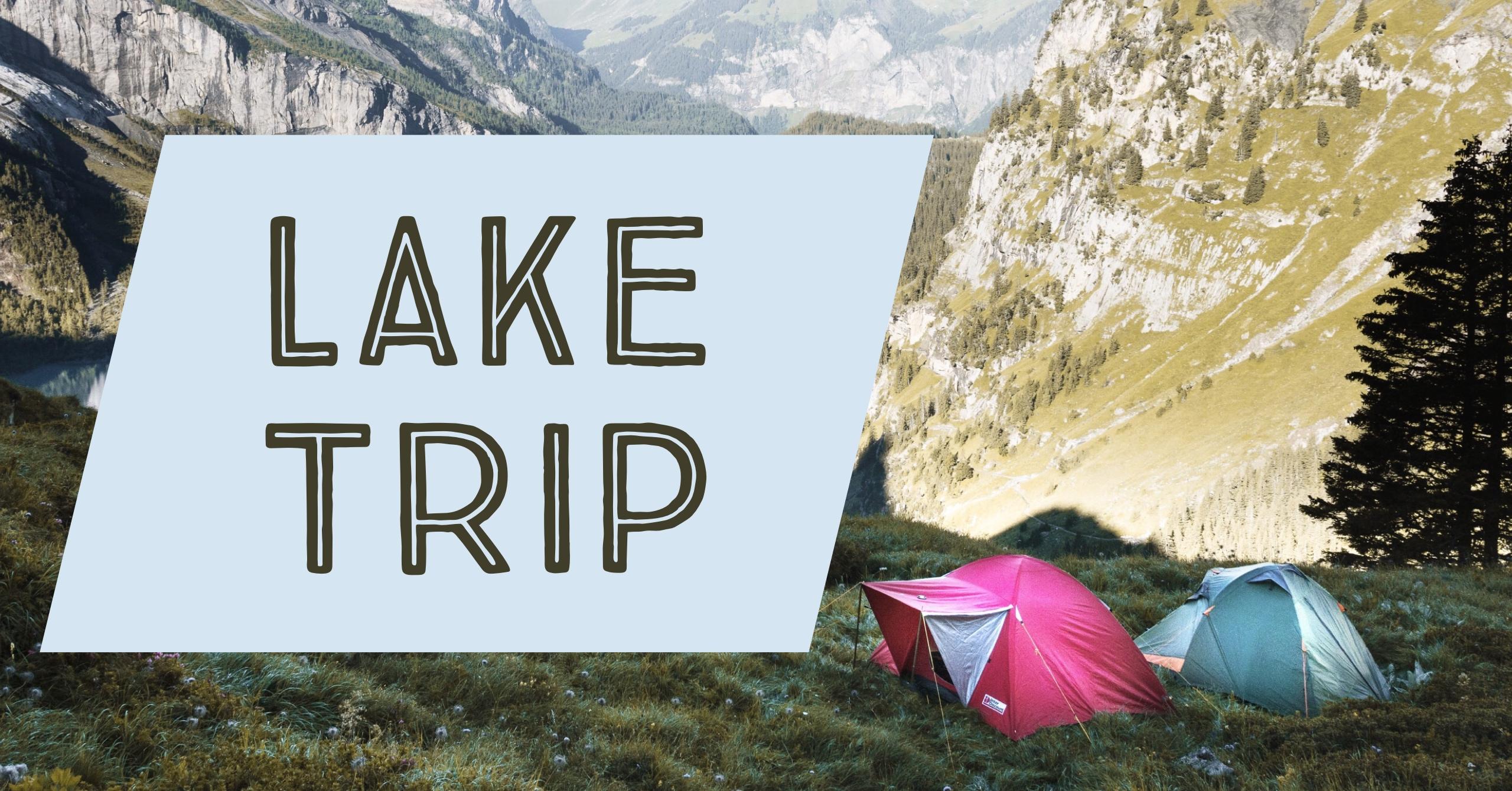 Lake trip photo