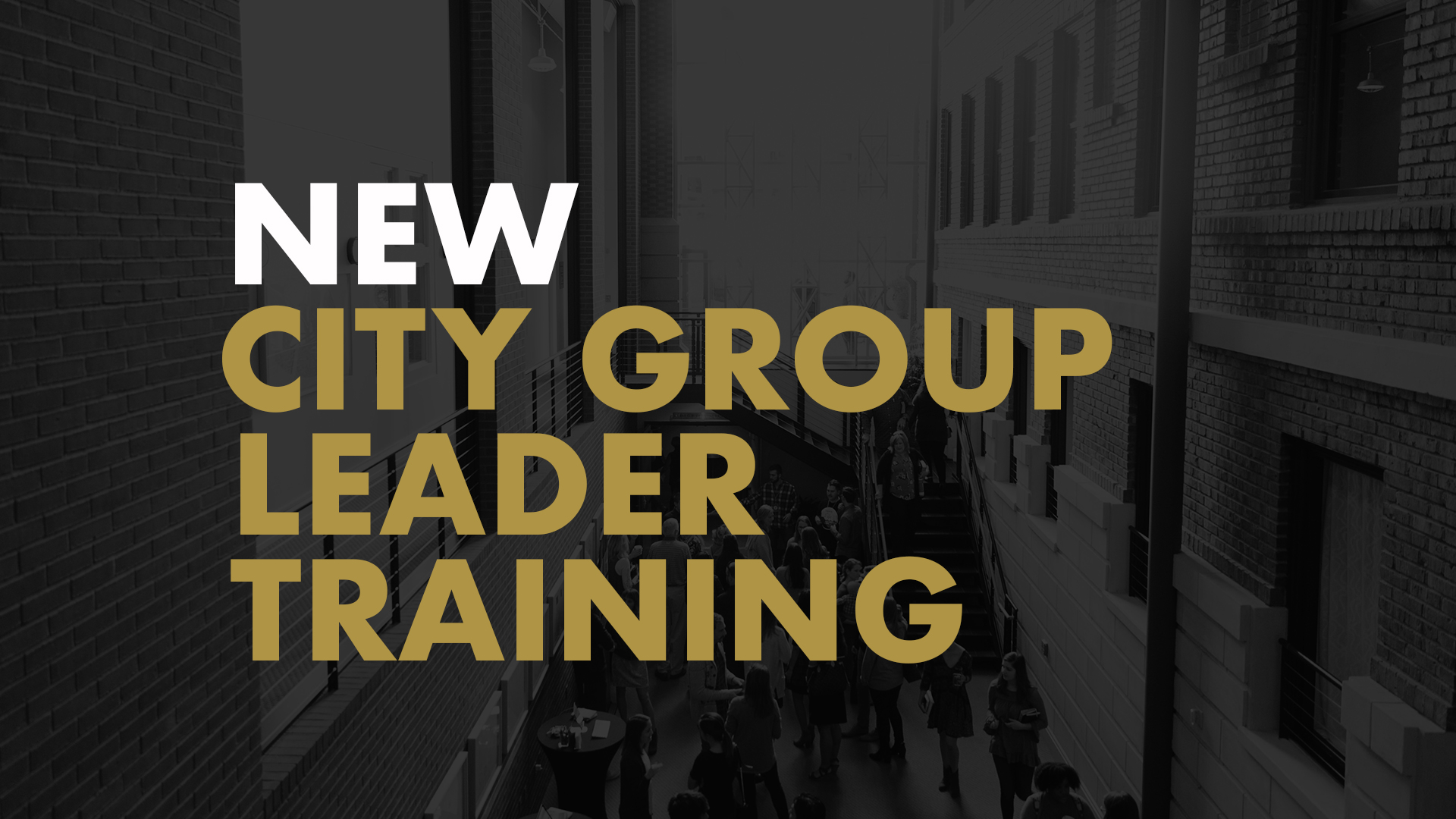 Cg leader training