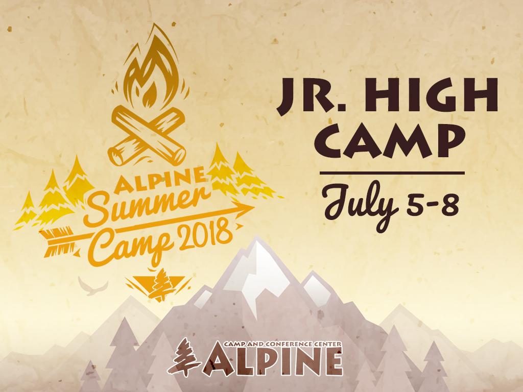 Jr high camp