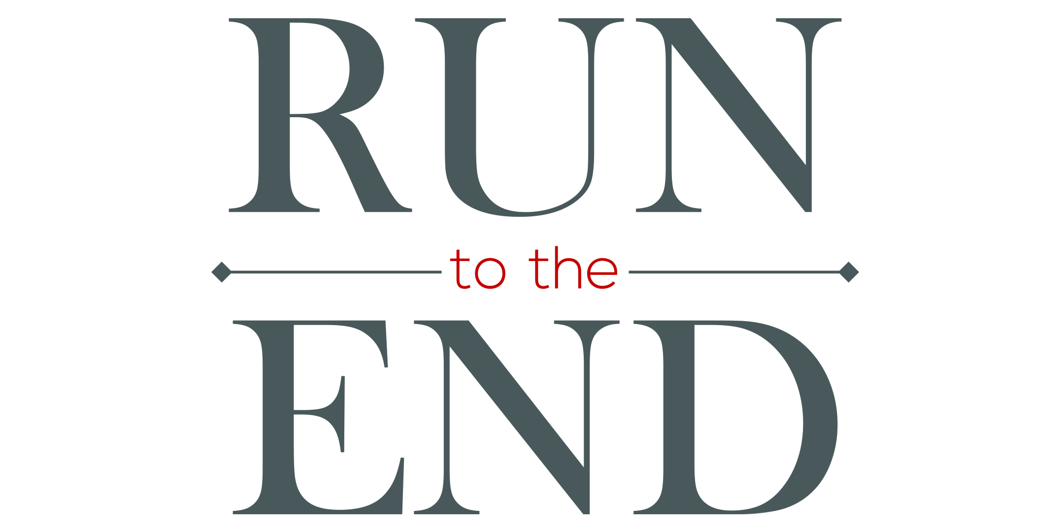Runtotheend postcard 2018 front logo wide view