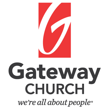 Gateway church logo stacked with motto