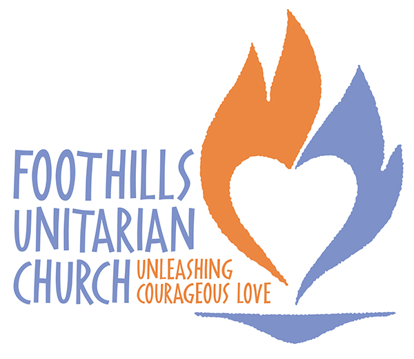 Foothills uu logo 2016 startup flame heart logo sm