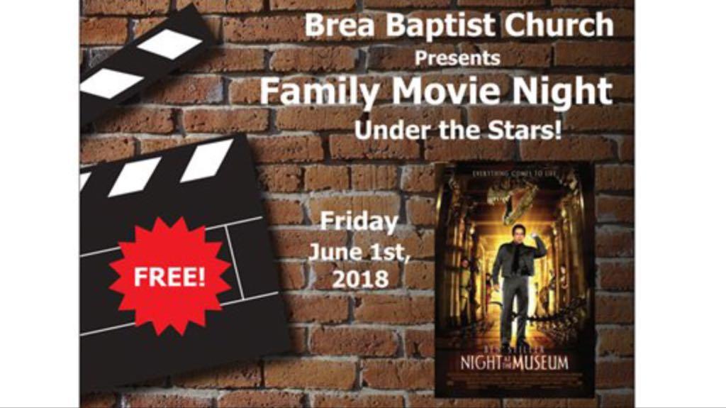 Night at the museum movie night image