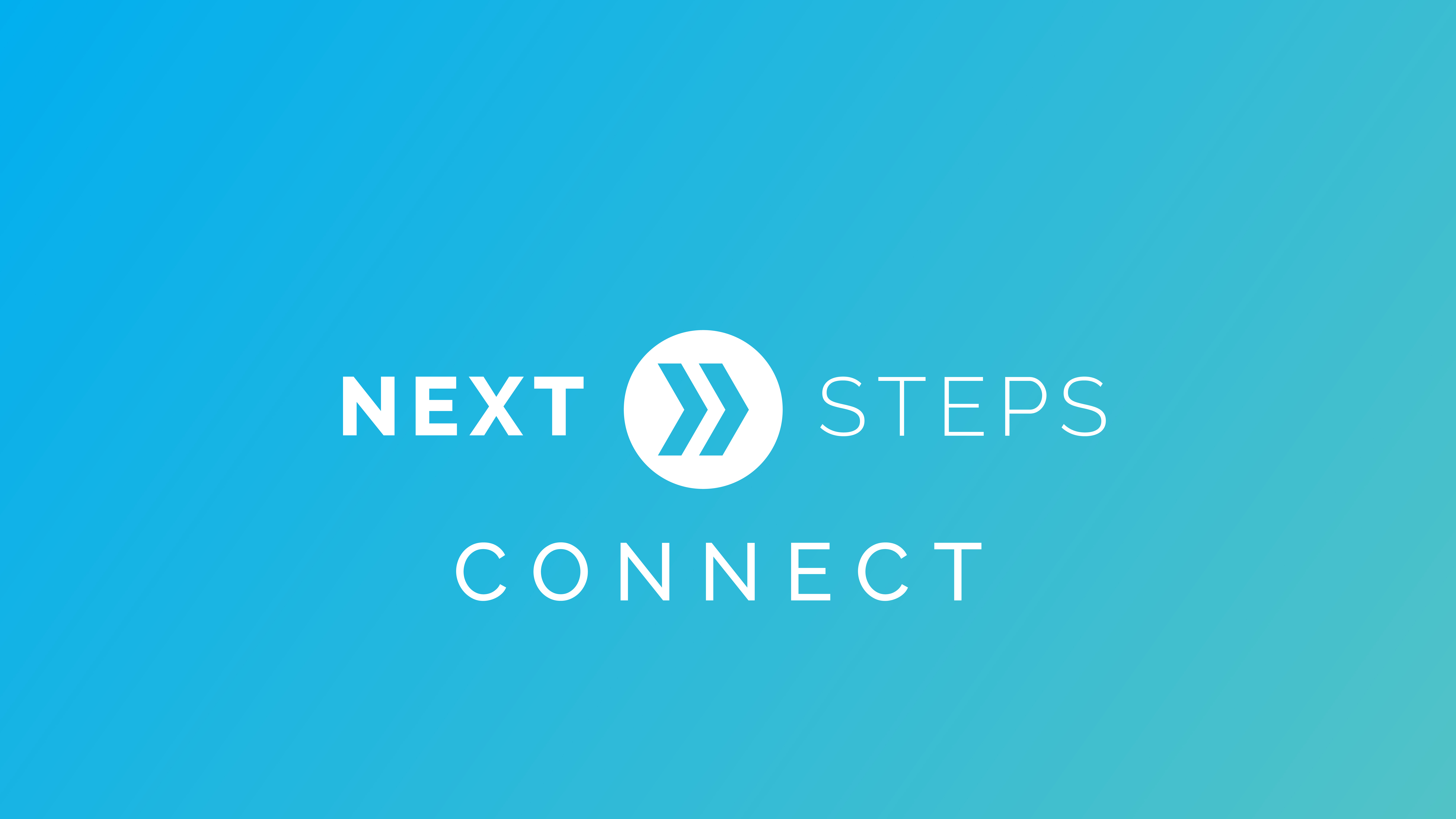 Next steps   connect graphic
