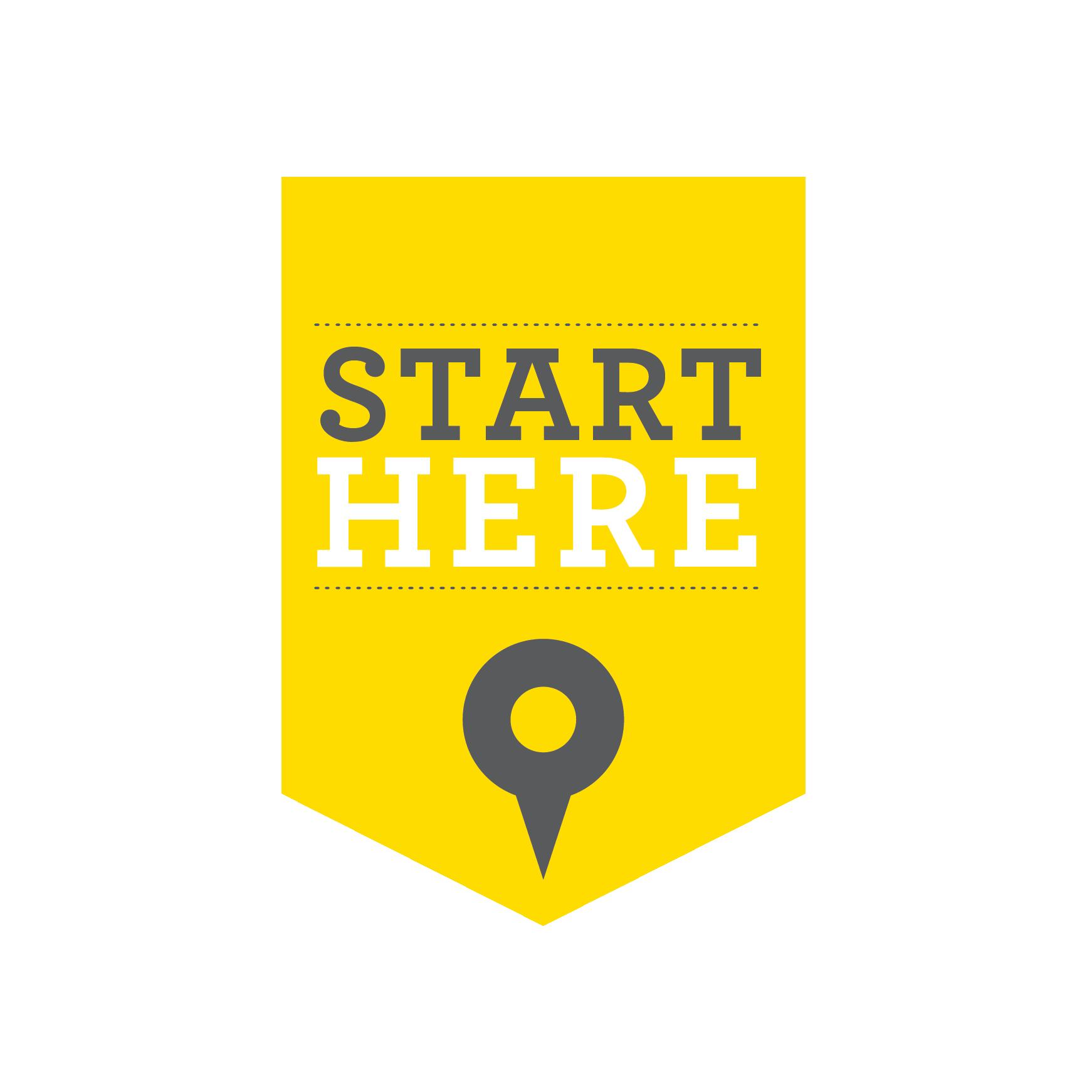 Start here full logo color