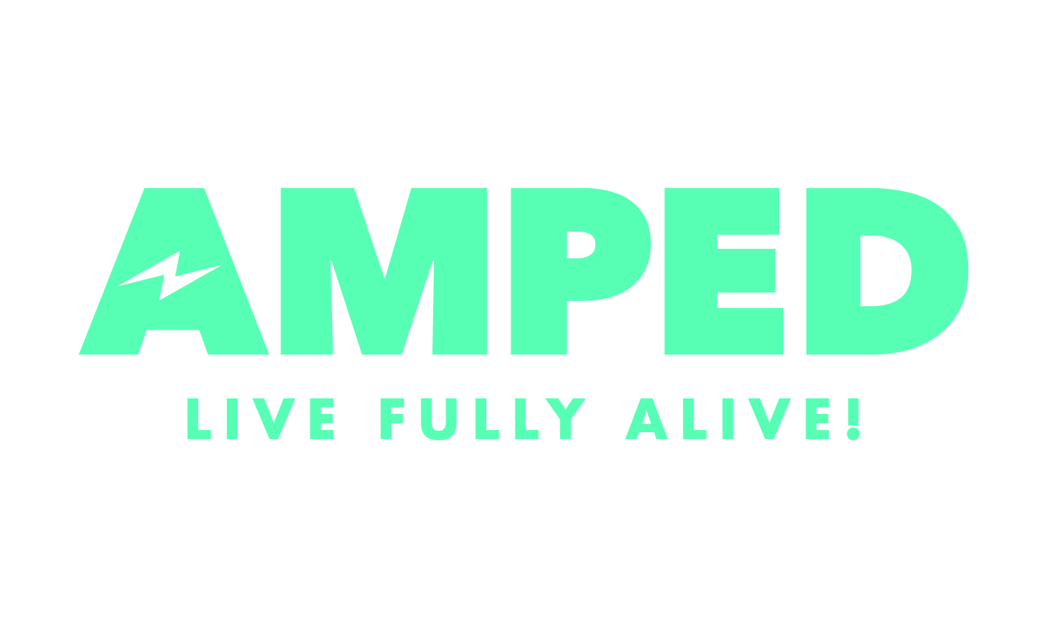 Amped full logo teal cmyk