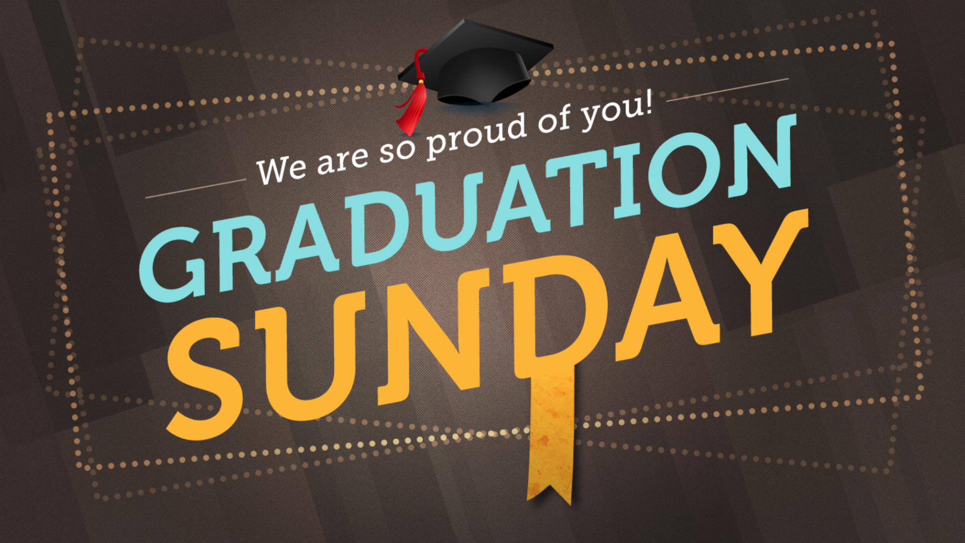 Graduation sunday logo