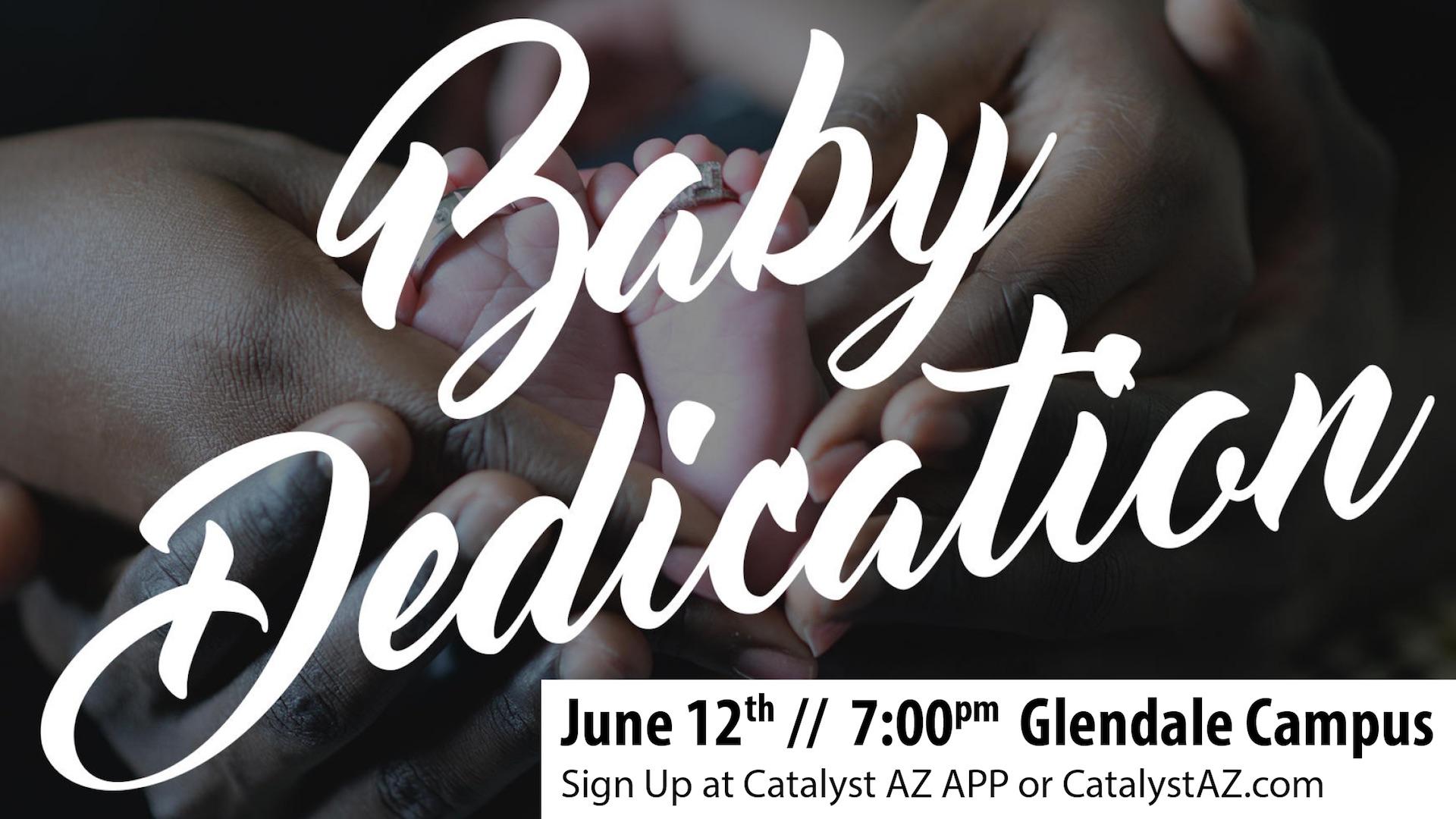Baby dedication gln