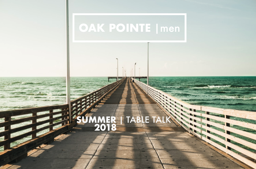 Table talk summer 2018