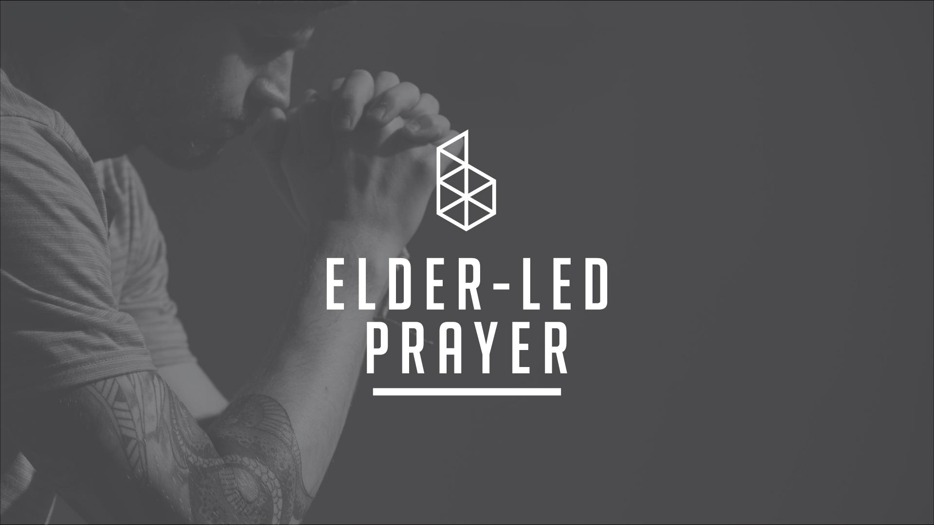 180504 elder led prayer
