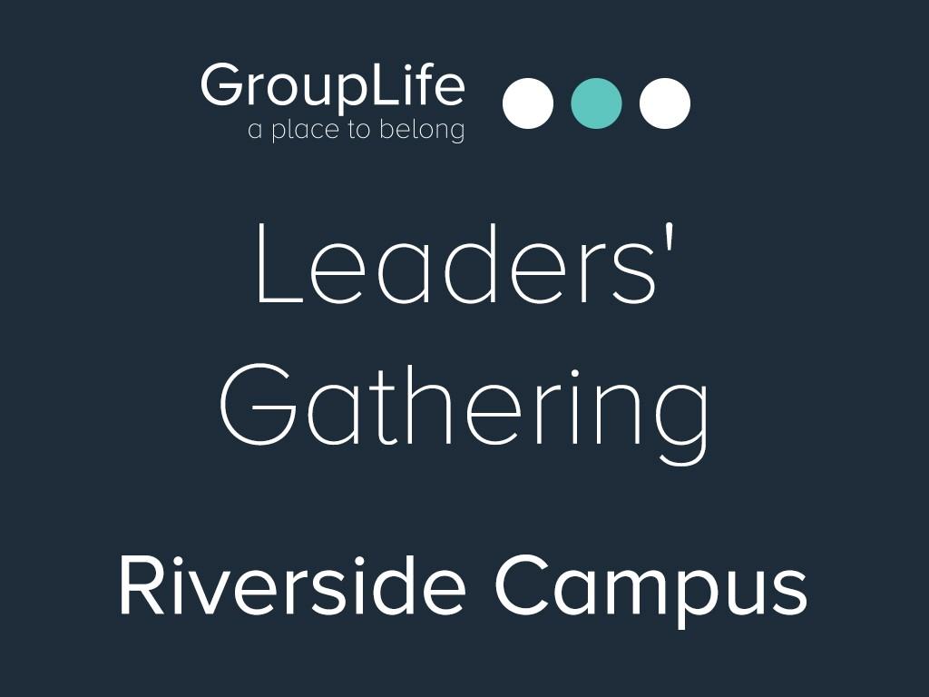 Riverside leaders  gathering