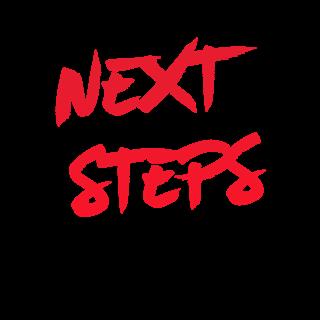 Next steps logo  red