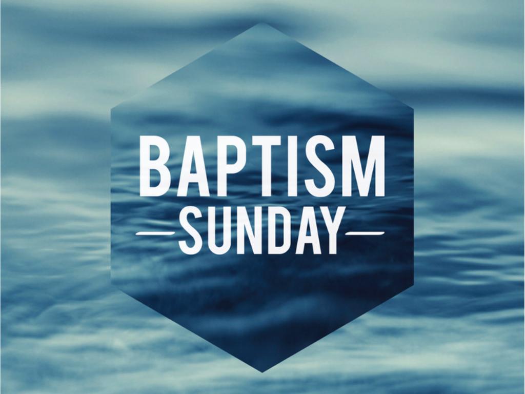 Baptism sunday planning center