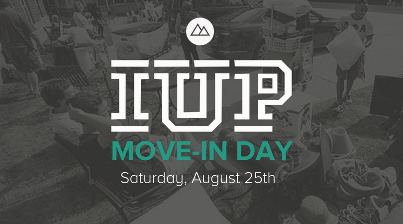 Iup move in day