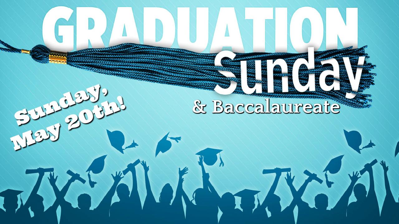Graduation sunday 2018
