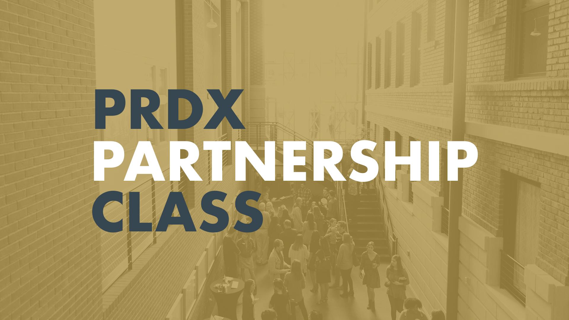 Prdx partnership class