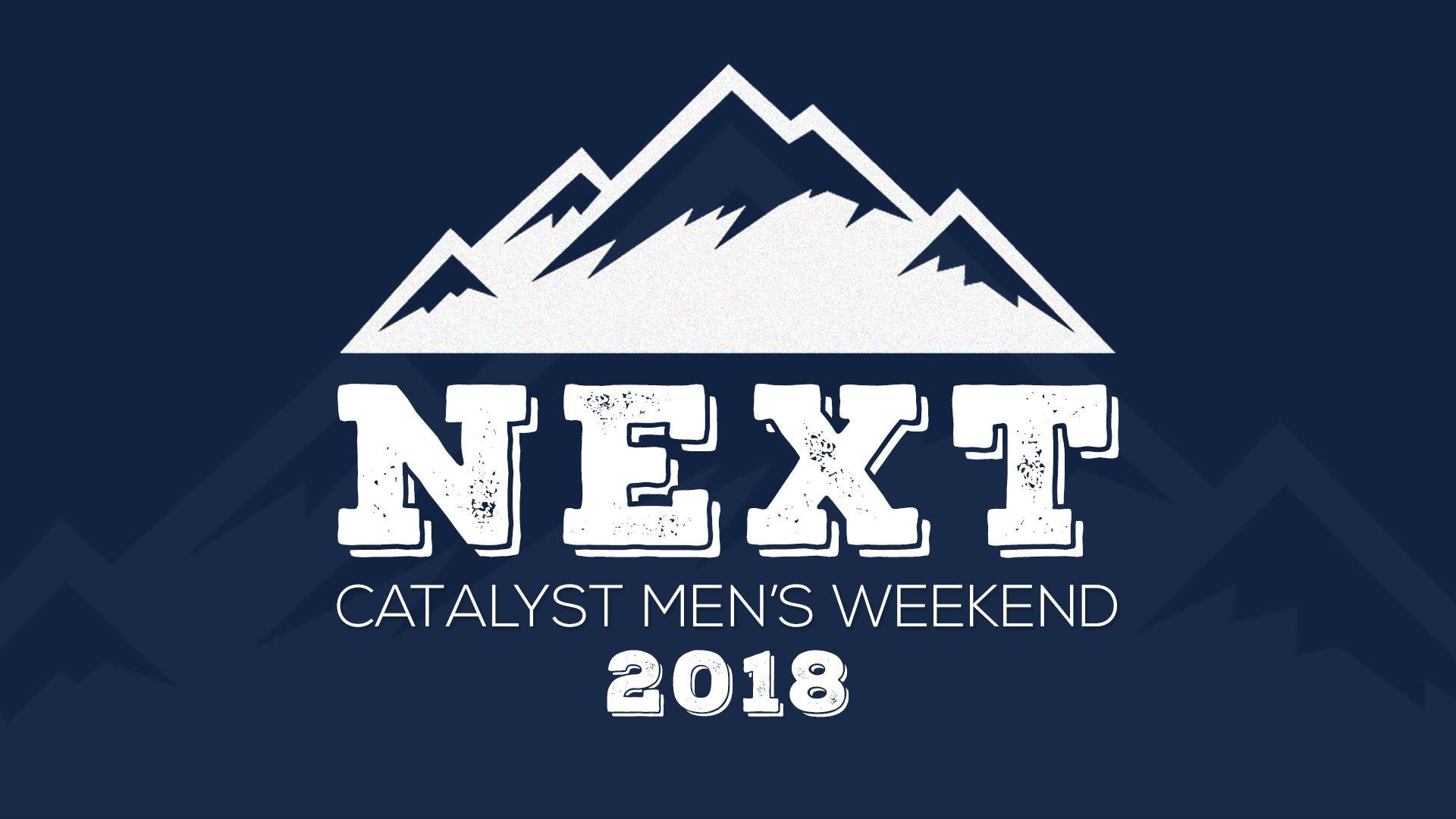 Catalyst retreat next 2 3