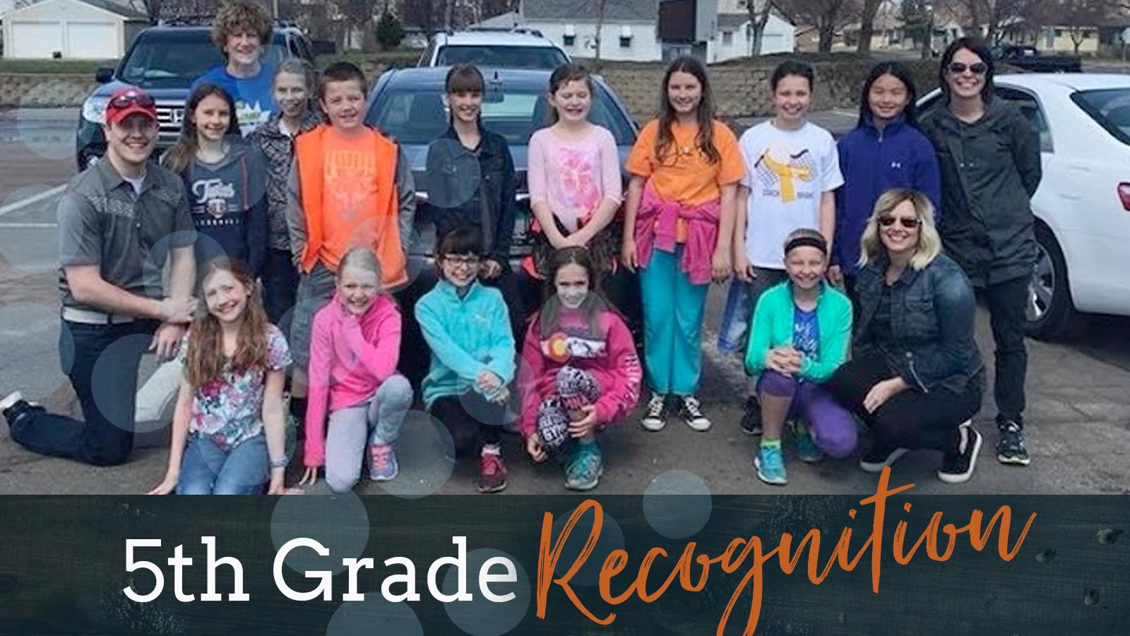 5thgraderecognition