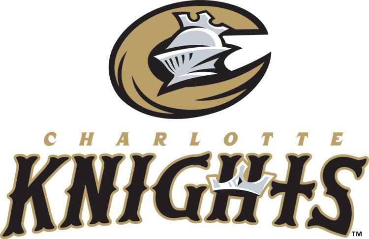 Charlotte knights logo detail