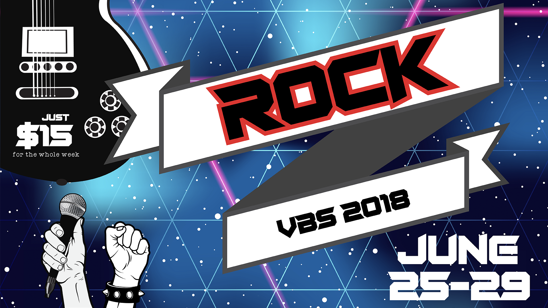 Rock vbs promo slide