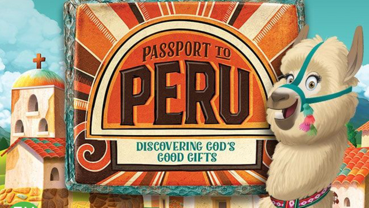 Passport to Peru VBS  logo image