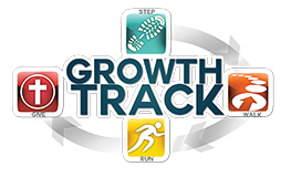 Growth track button