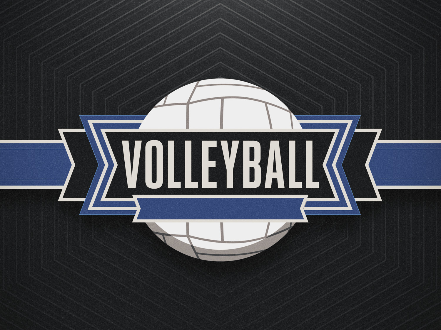 Sports set volleyball title 2 standard 4x3