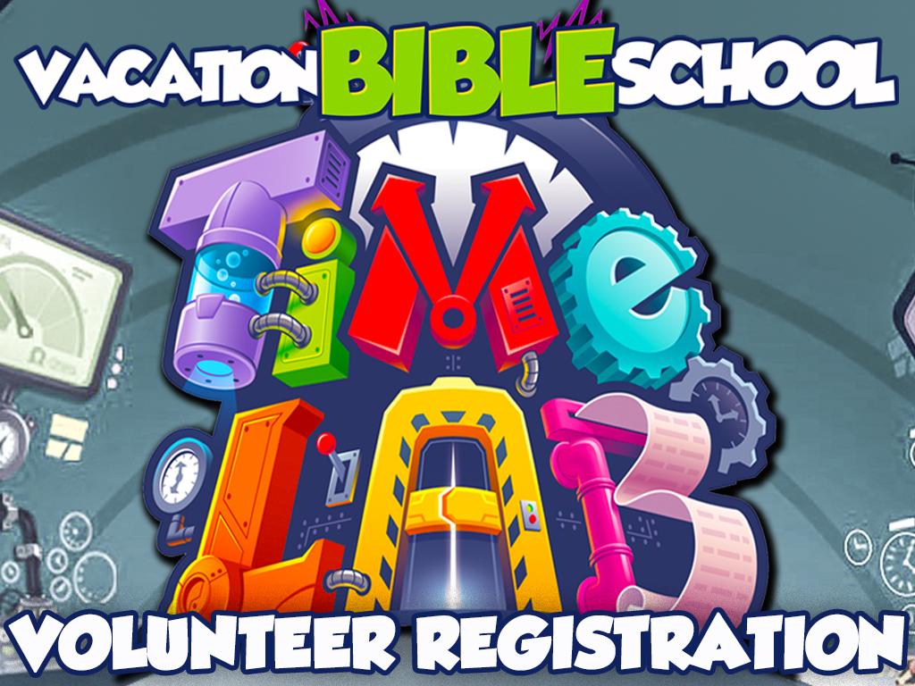Vbs volunteer registration 2018