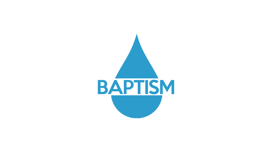 Baptism icon blue 9x16