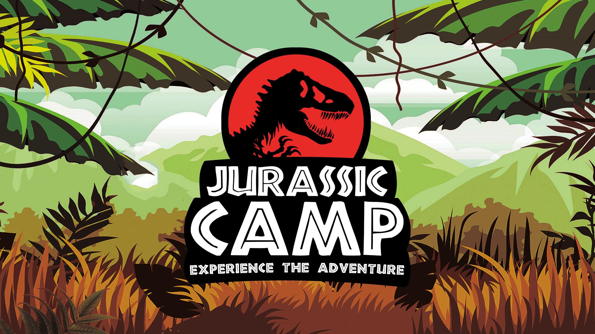 Jurassic camp event cover