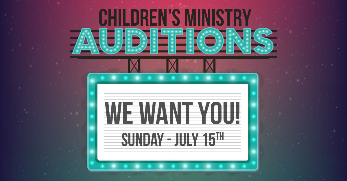 Auditions fb post
