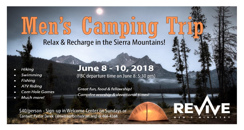 Camping trip 2018 facebook website