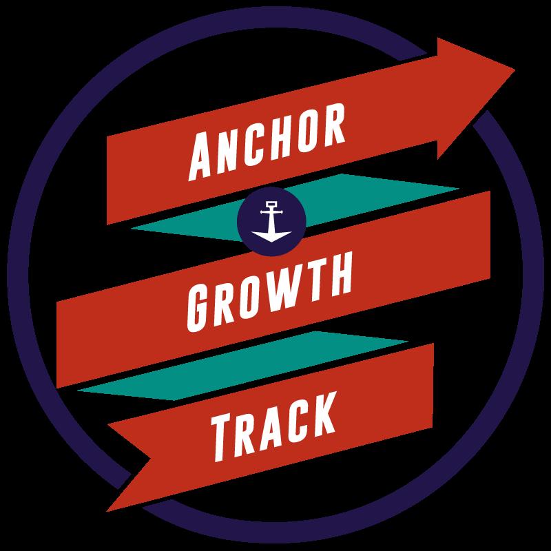 Anchor growth track logo