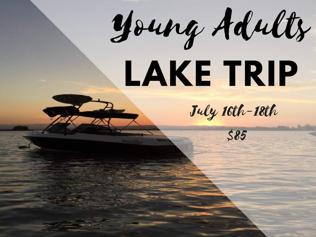 Young adults lake trip  1