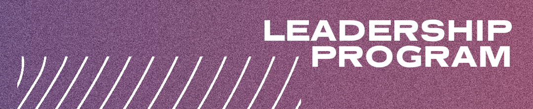 Leadership program youth sample side lettering