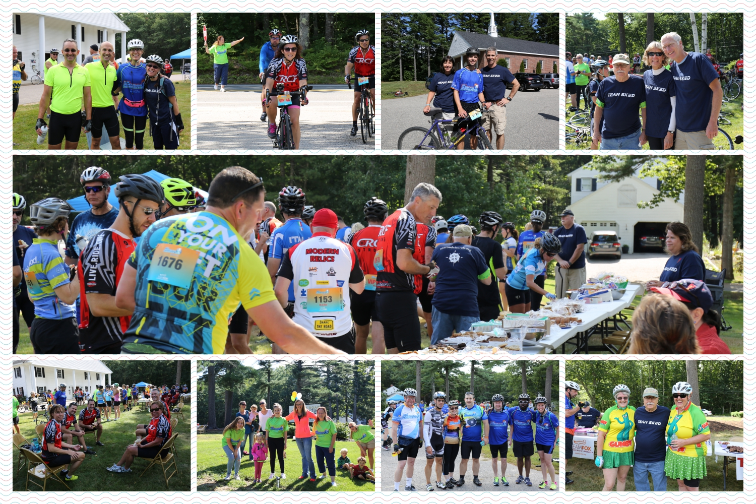 Parkinson s ride collage