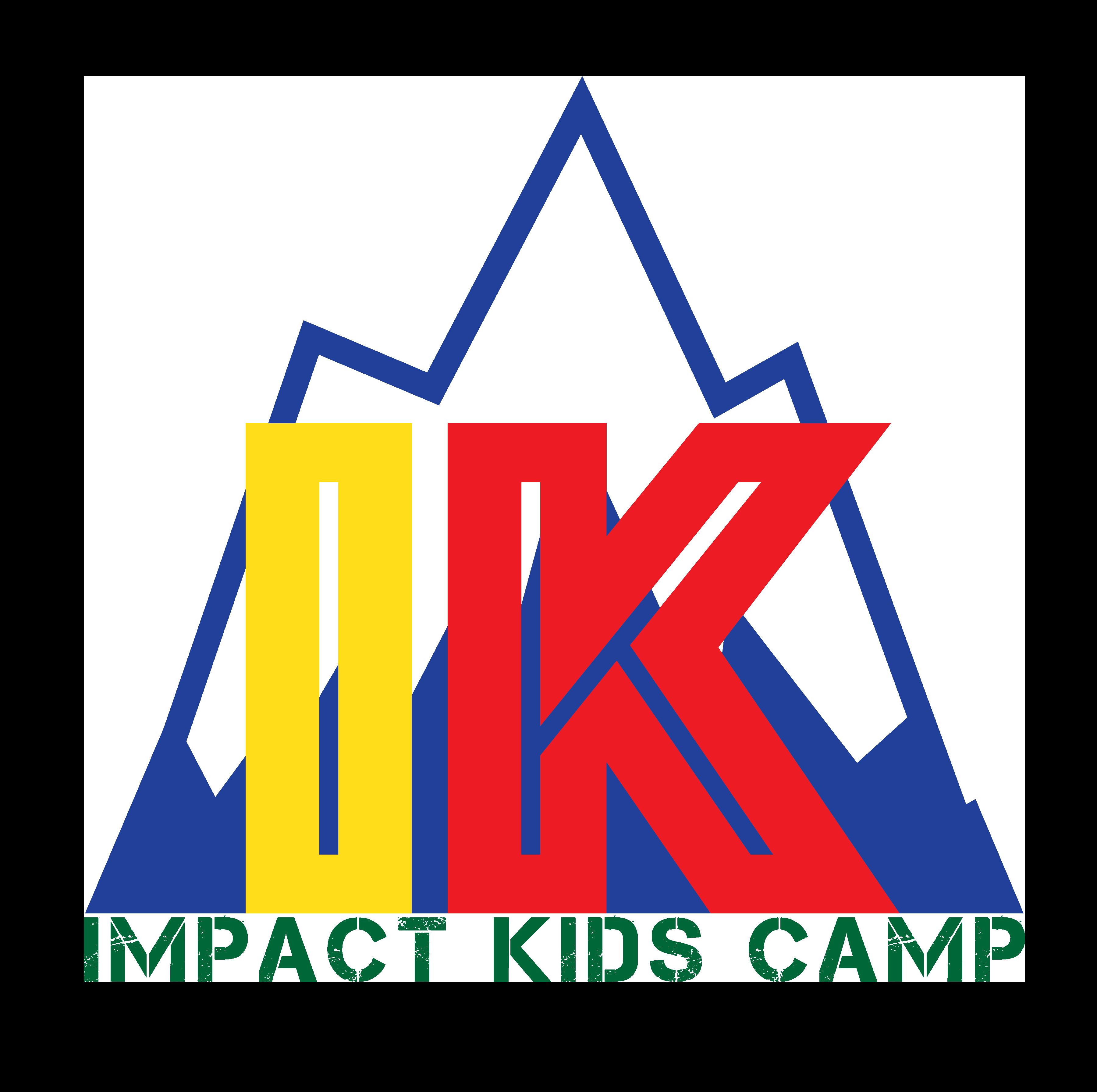 Impact kids camp logo