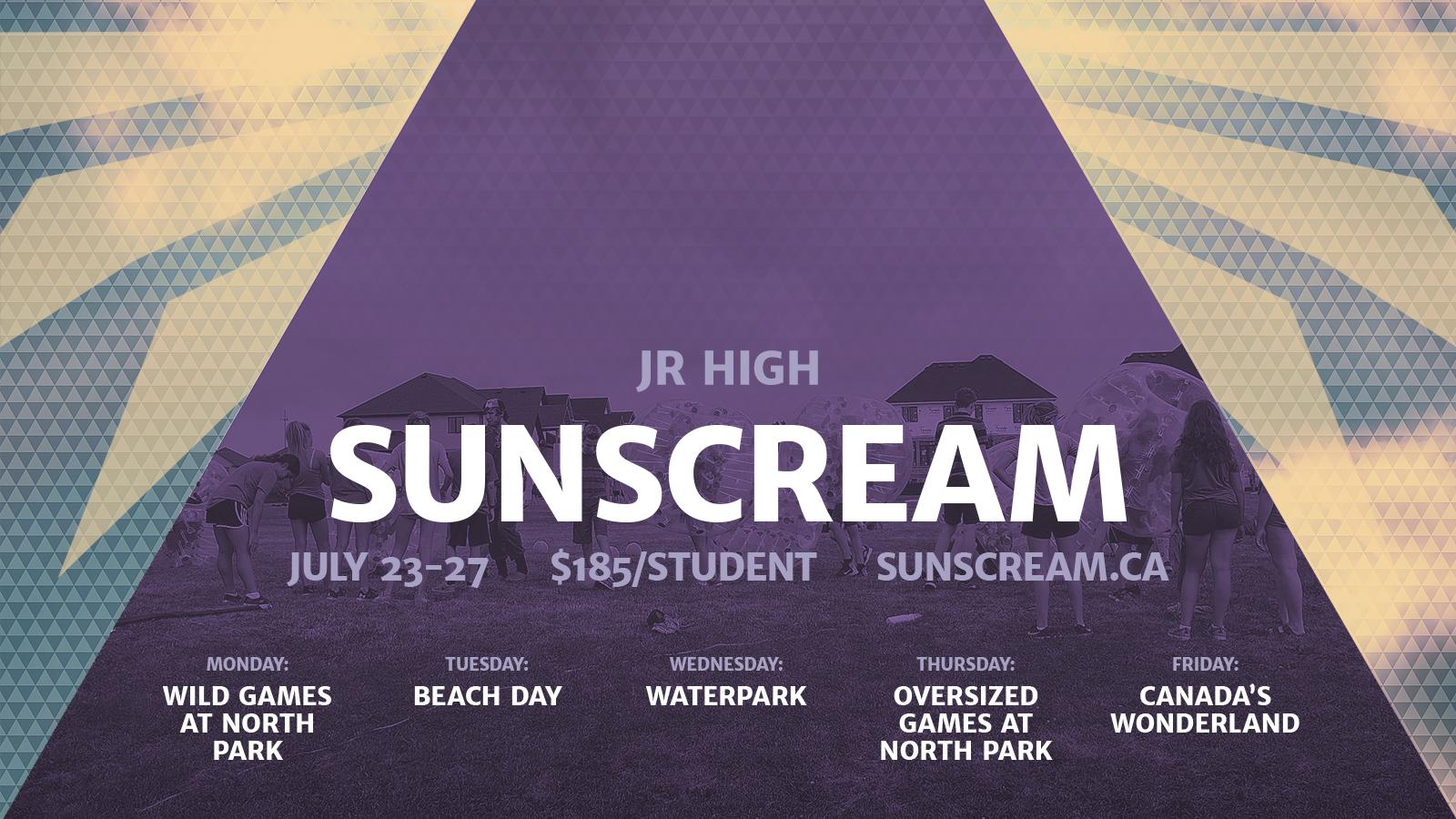 Sunscream2018 powerpoint info