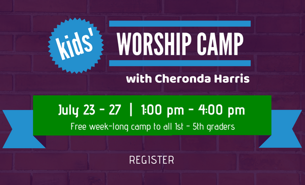 Web  kids worship camp 2