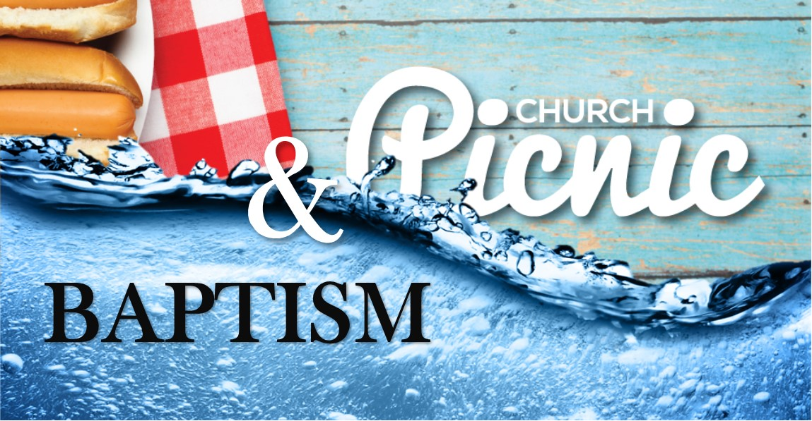 Picnic and baptism