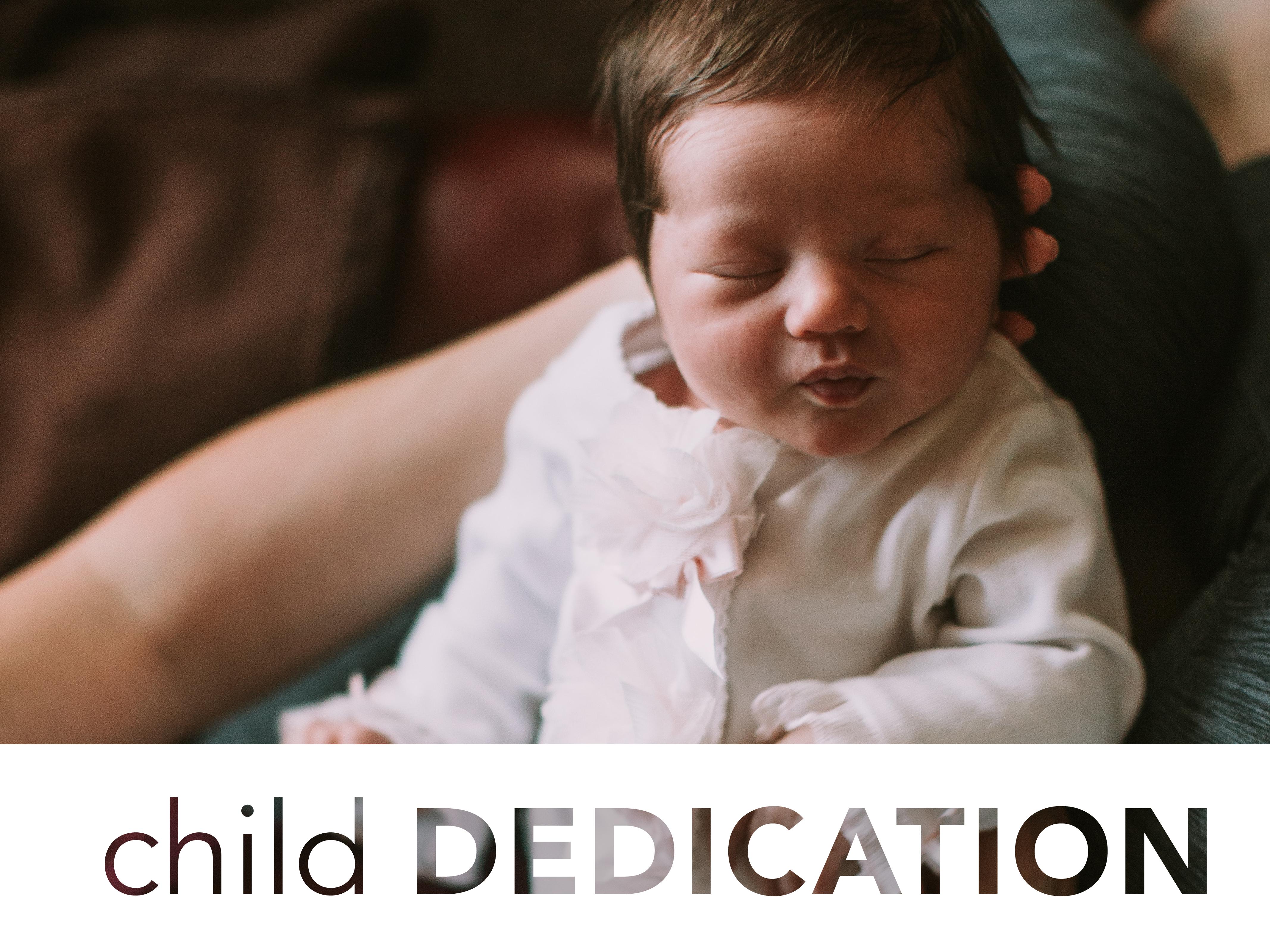 Child dedication 01