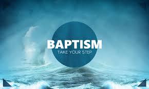 Baptism step