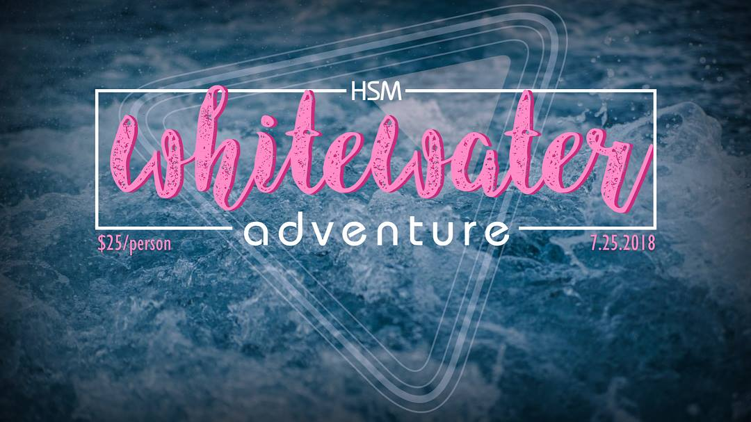 White water graphic