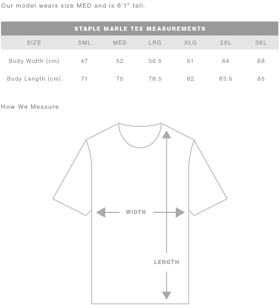 Size guide 1