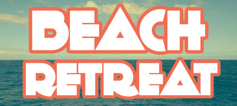 Beach retreat logo