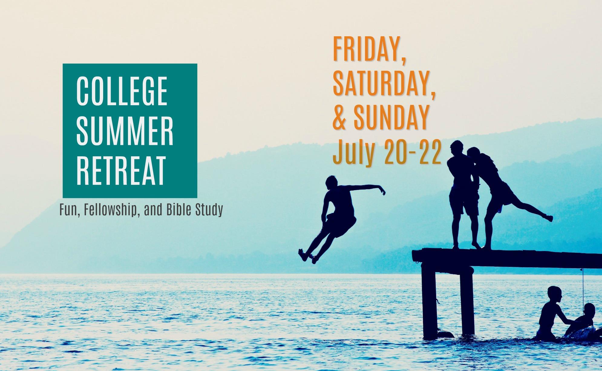 Summer retreatbg2018