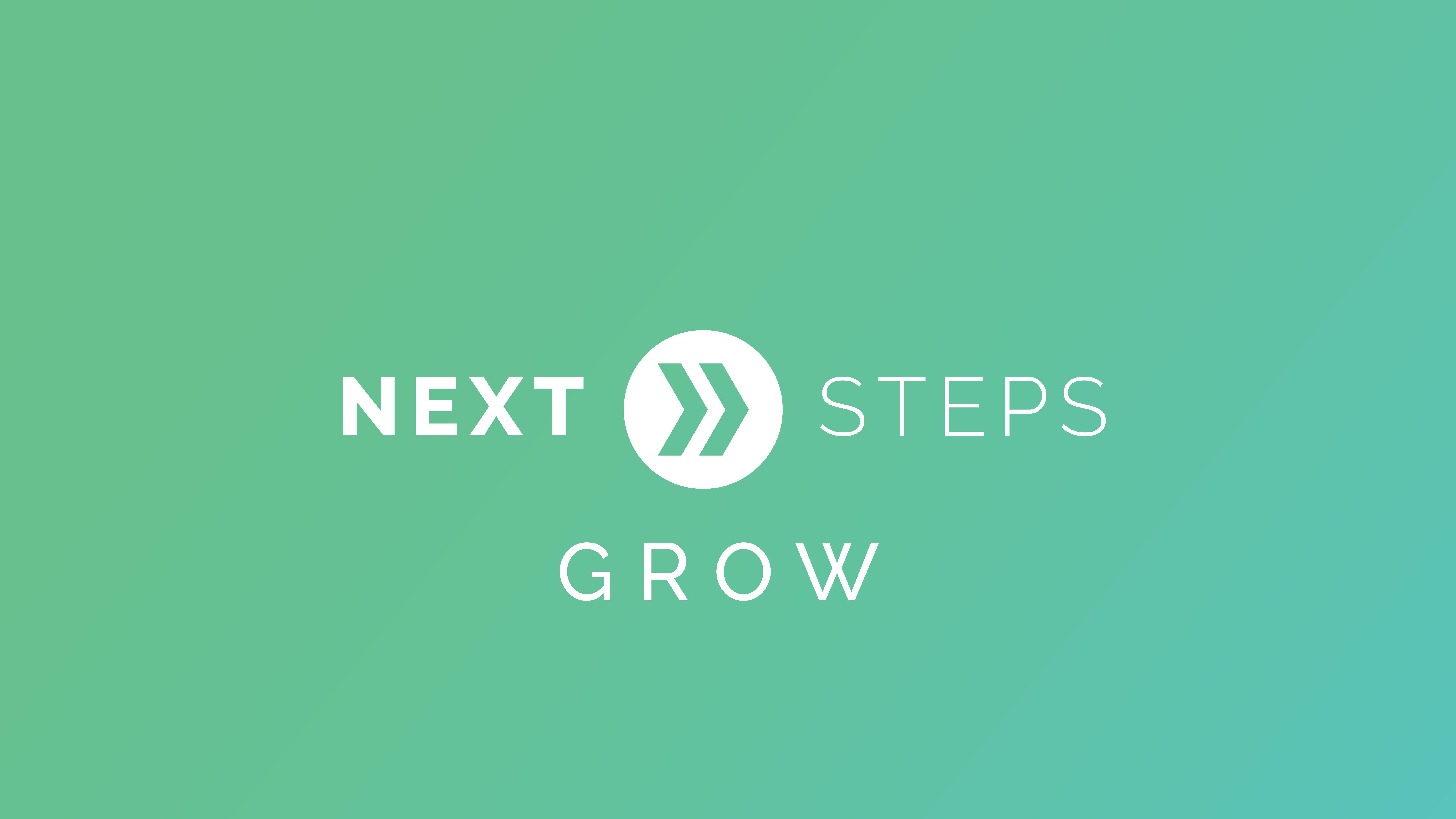 Next steps   grow graphic