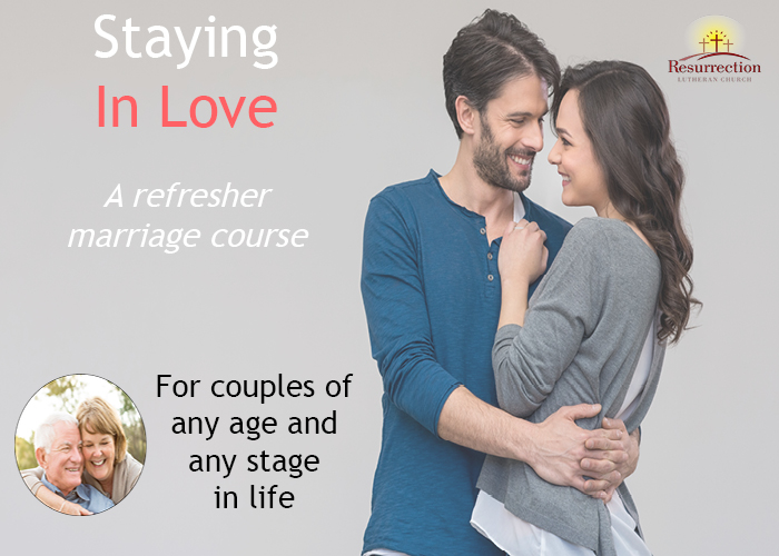 Staying in love banner
