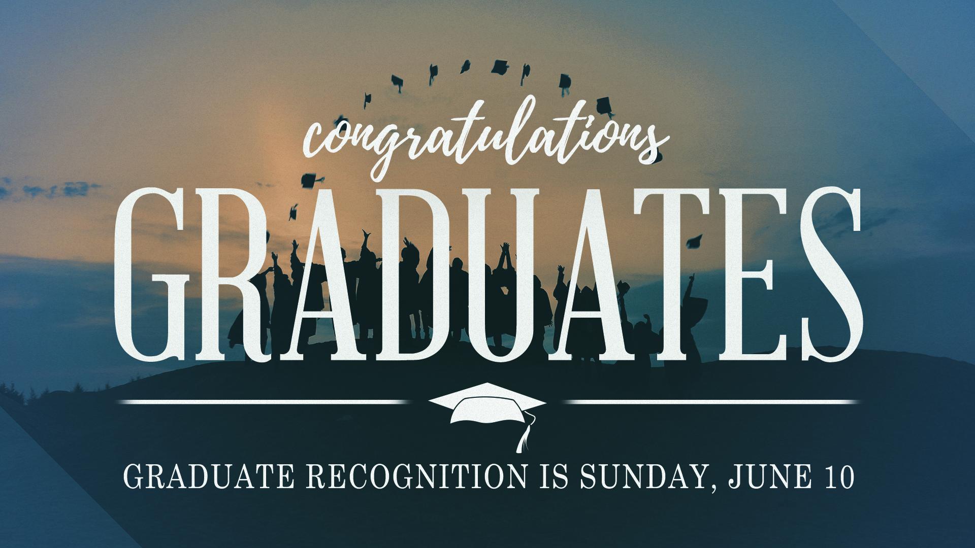 Graduate recognition 2018